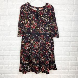 MODCLOTH Floral Fit and Flare dress | Size 1X